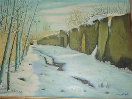 روز برفی- روزگار قدیم