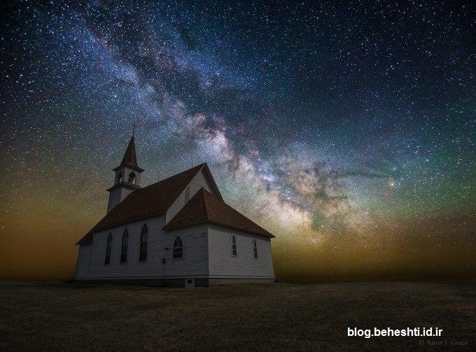 عکس هایی حیرت آور از آسمان