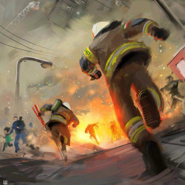 آتش نشان و پلاسکو