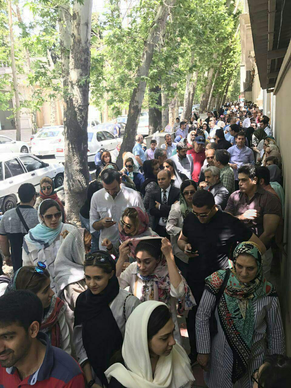 تهران زعفرانیه، ساعت ۱۵