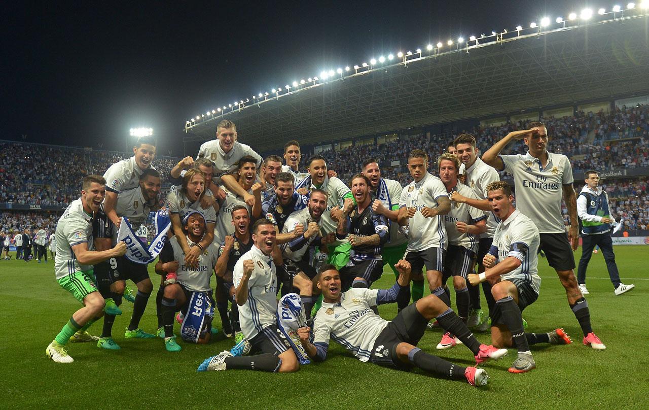 33 قهرمانی لالیگا - رئال مادرید