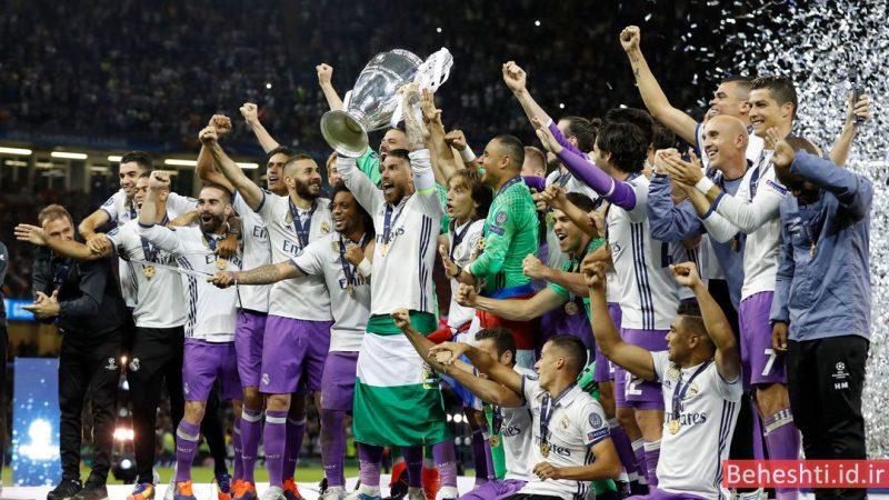 12 قهرمانی رئال مادرید champions league 2017