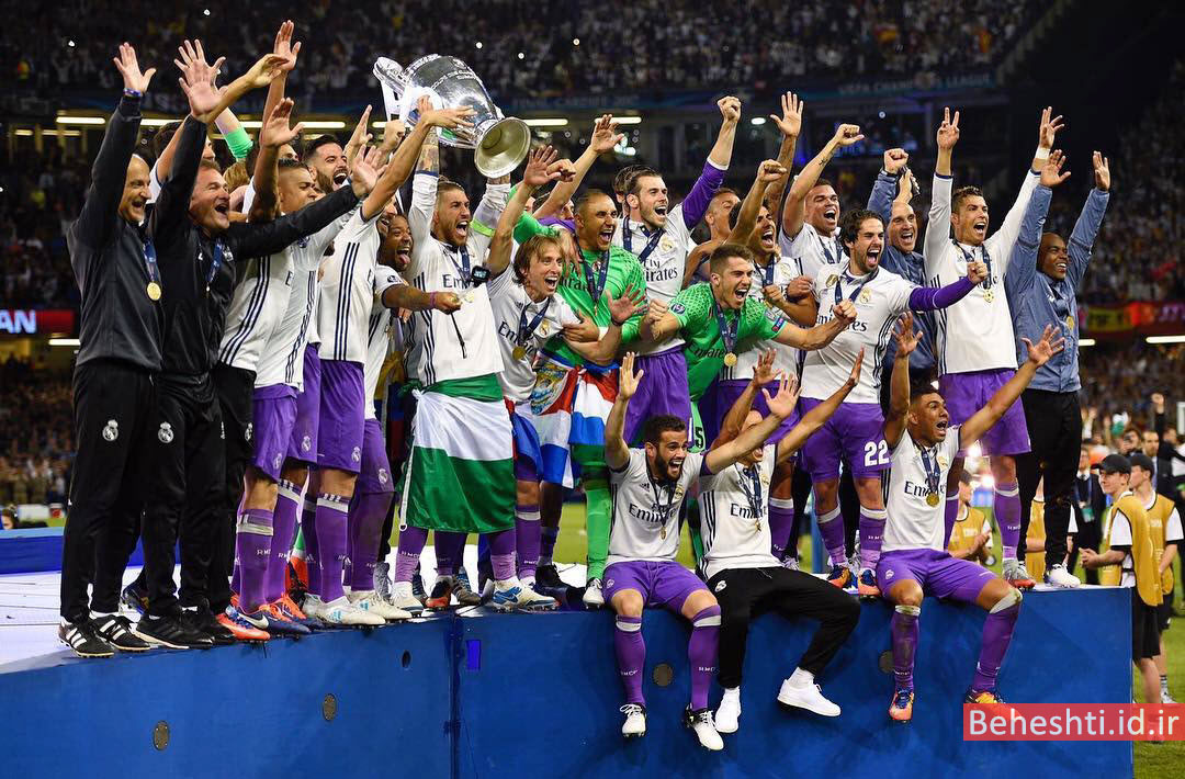 12 قهرمانی رئال مادرید لیگ قهرمانان اروپا 2017