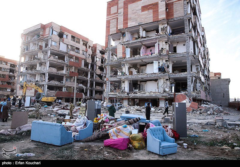 زلزله کرمانشاه مسکن مهر 96