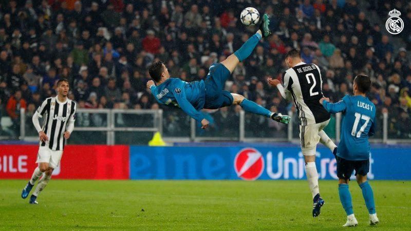 سوپر گل رونالدو - رئال مادرید یوونتوس