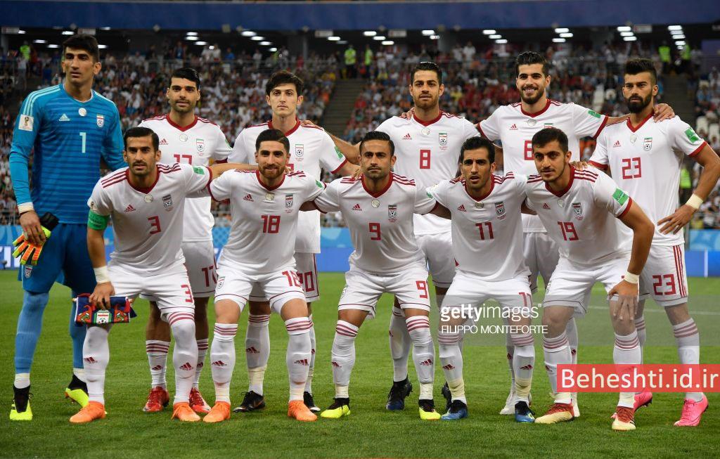ترکیب ایران در بازی ایران پرتغال جام جهانی 2018