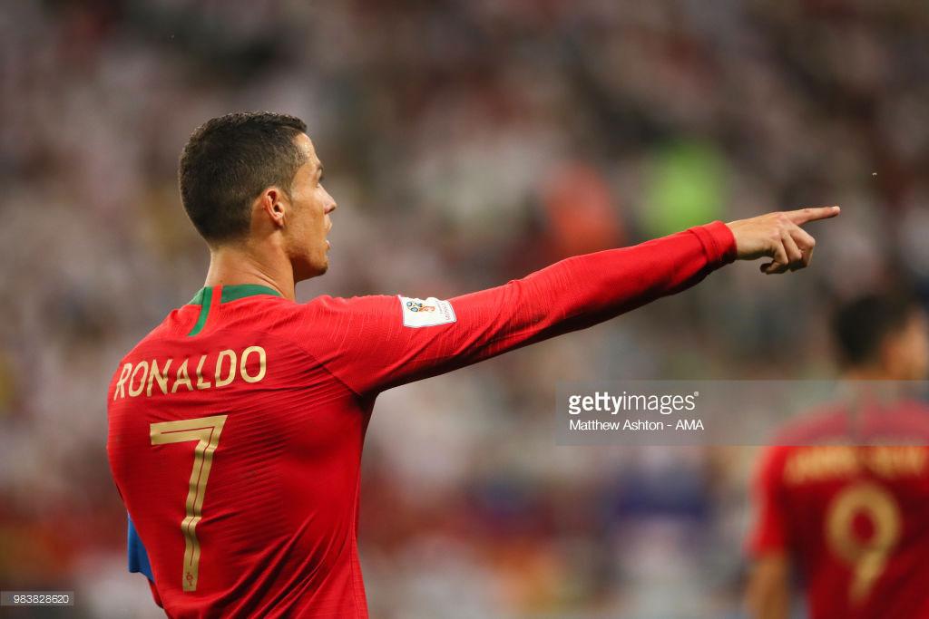رونالدو جام جهانی 2018 بازی ایران پرتغال