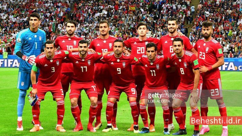 ترکیب ایران در بازی ایران اسپانیا؛ جام جهانی 2018