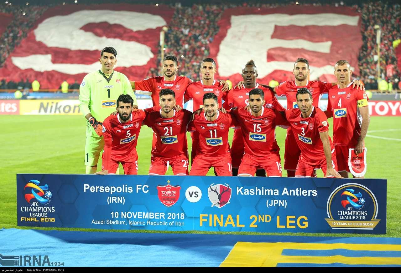 پرسپولیس فینالیست لیگ قهرمانان آسیا 2018