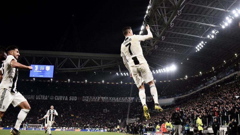 رونالدو یوونتوس اتکتیکو لیگ قهرمانان اروپا