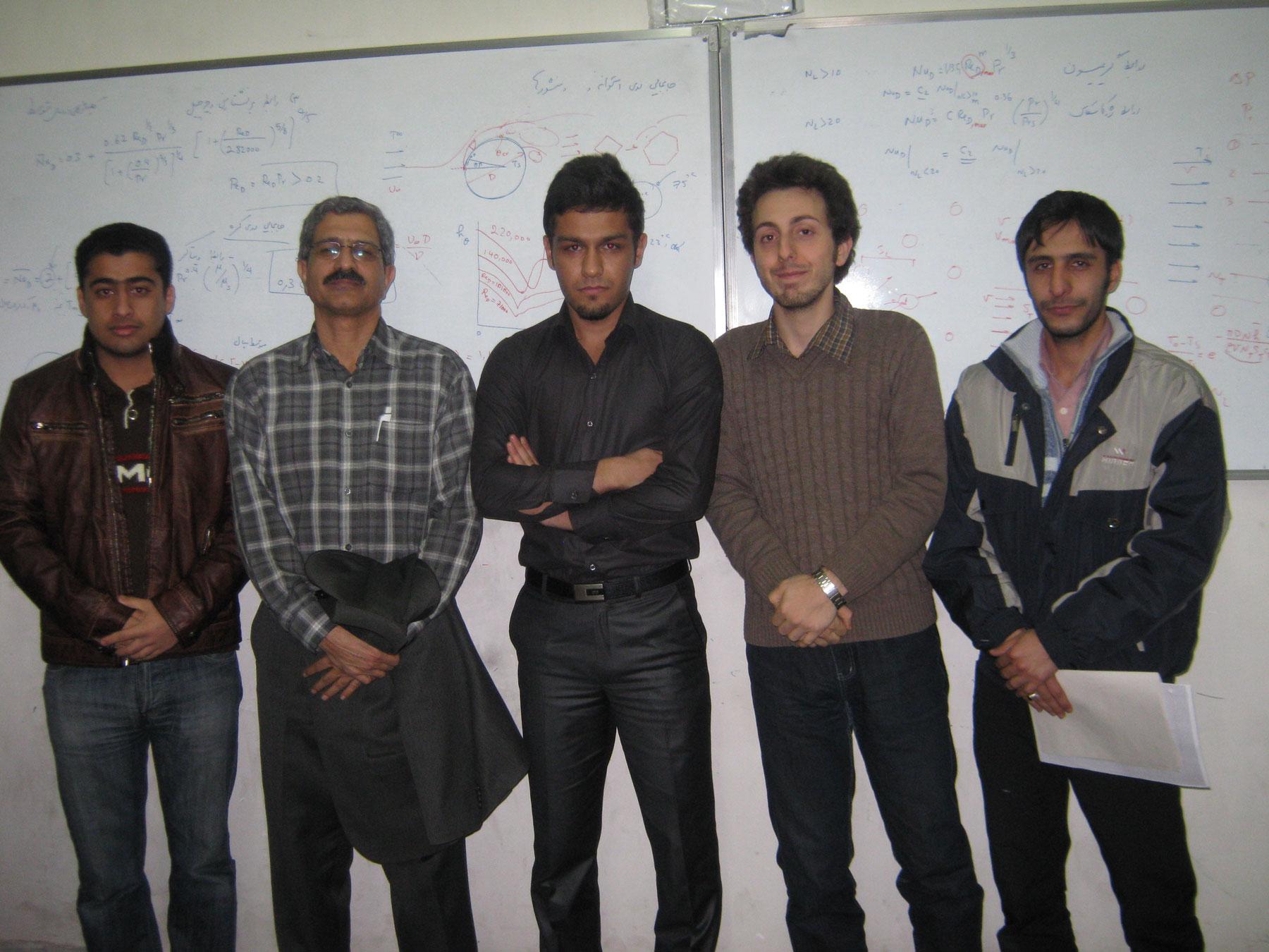 دکتر طالبی دانشگاه سمنان، مکانیک 87
