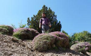 اسماعیل بهشتی، منطقه ییلاقی اسپیرو دامغان