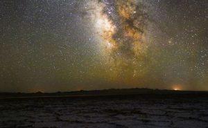 کهکشان راه شیری؛ کویر نمک دامغان
