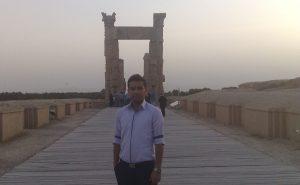 اسماعیل بهشتی، تخت جمشید شیراز