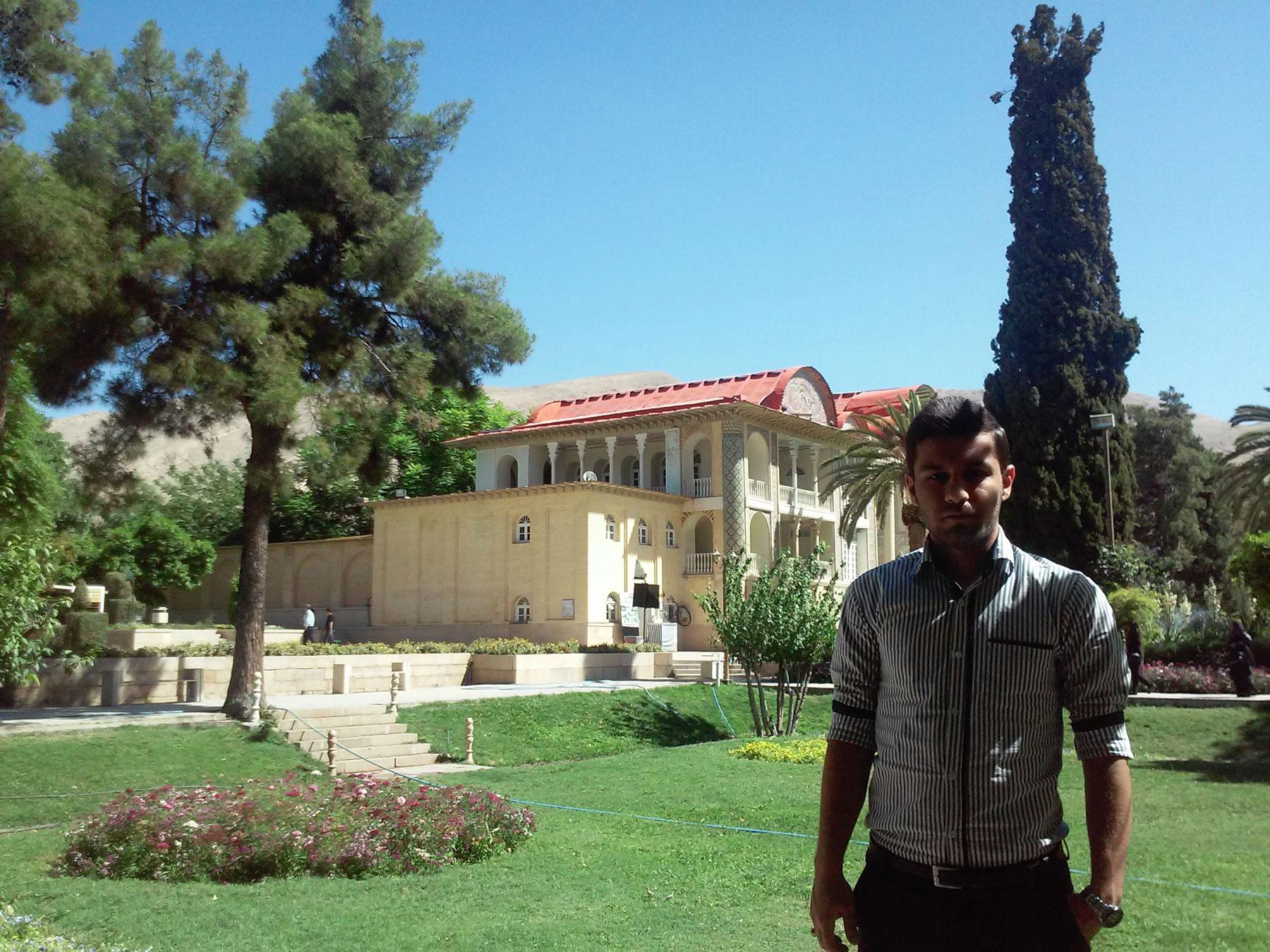 اسماعیل بهشتی، باغ ارم شیراز