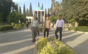 اسماعیل بهشتی، پرسپولیس آرامگاه سعدی شیراز 94