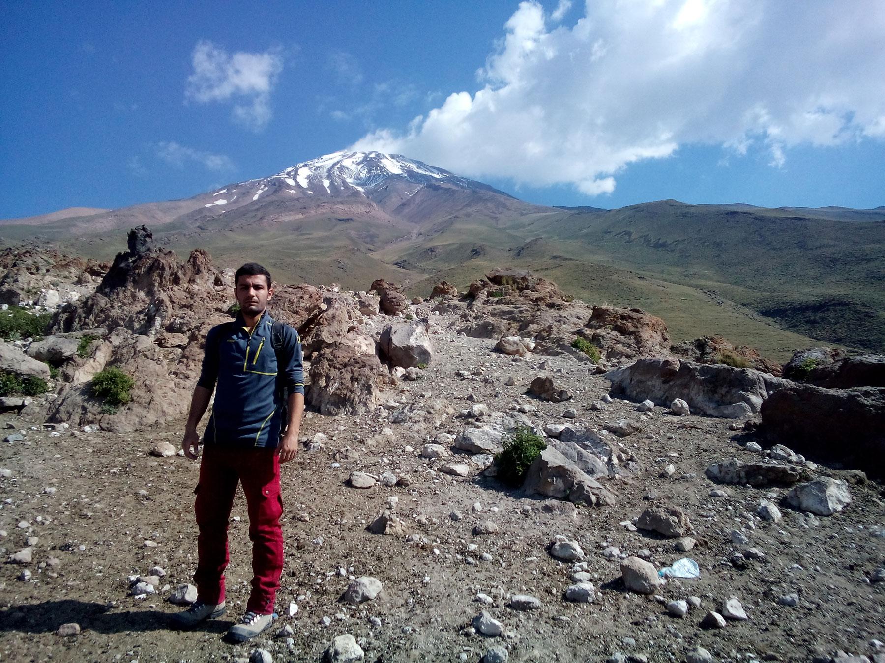 اسماعیل بهشتی، قله دماوند
