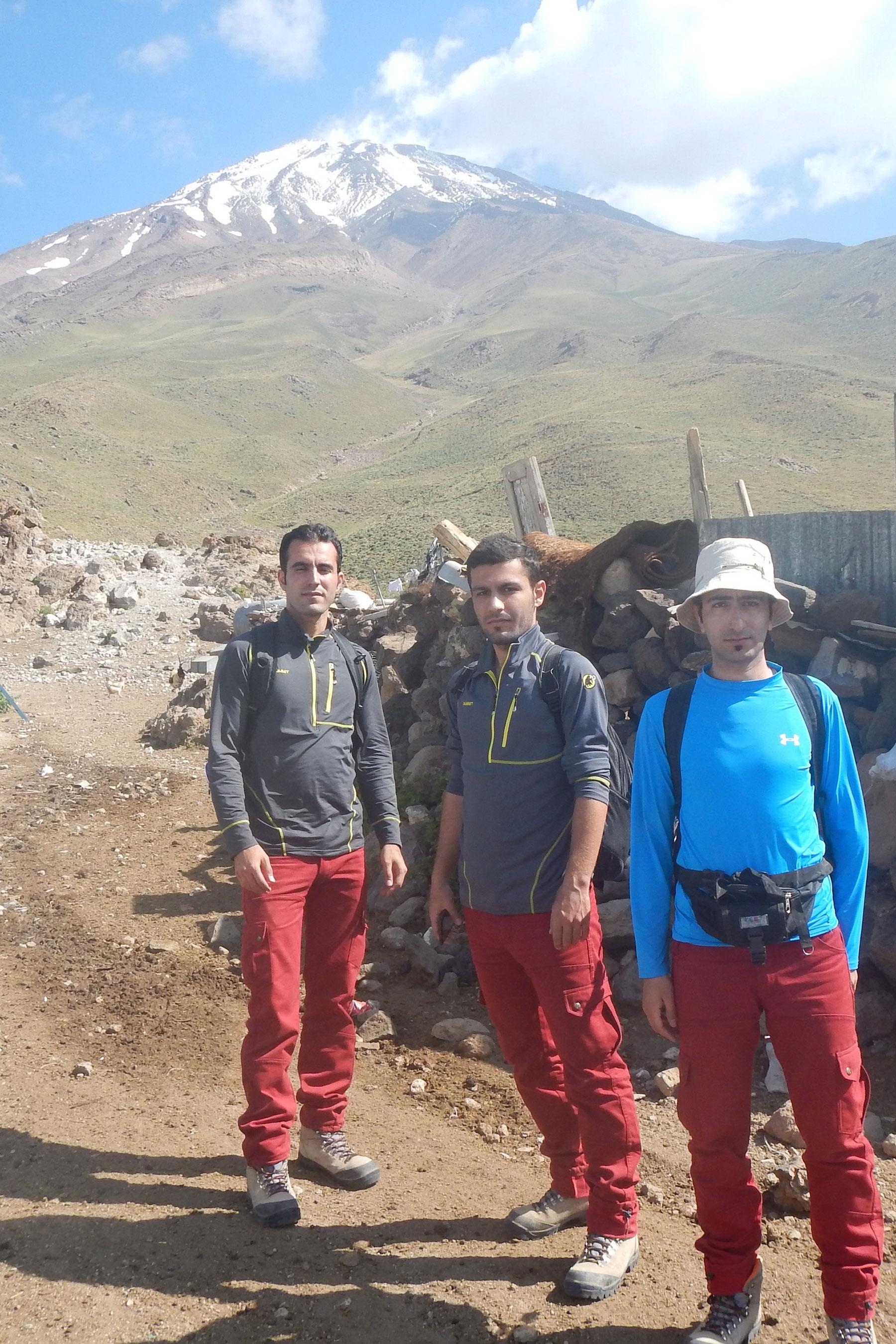 کوهپایه قله دماوند