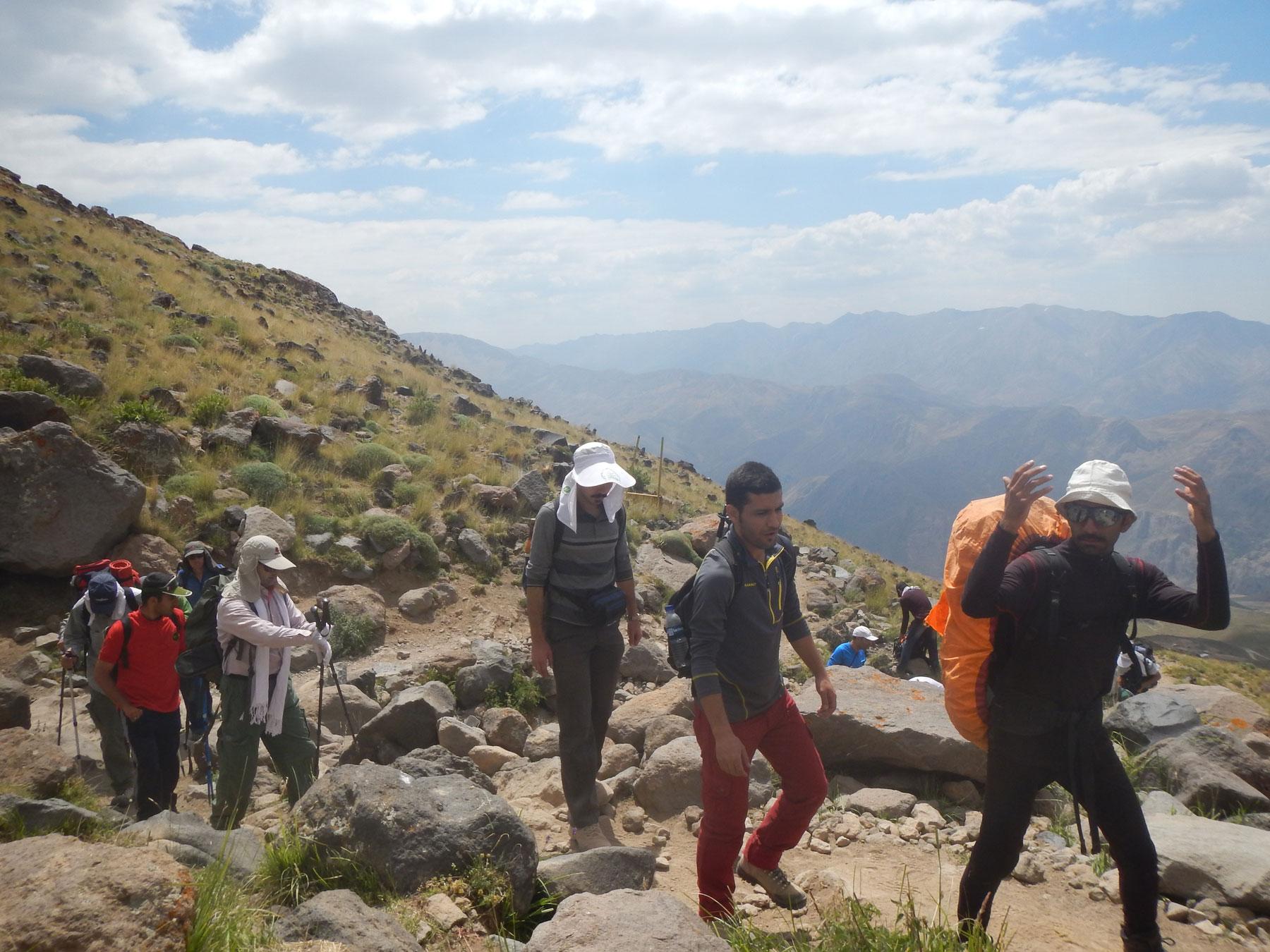 مسیر ضلع جنوبی قله دماوند